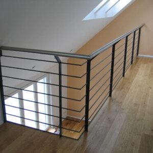 CNS-Geländer in DG-Wohnung