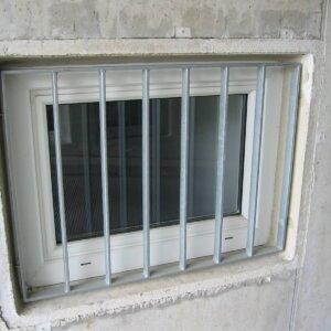 Fenstergitter für Garage
