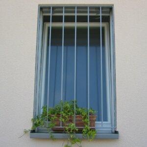 Badezimmerfenstergitter