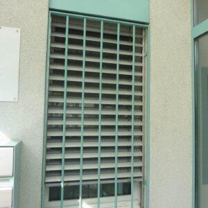 Fenstergitter für das neue Büro
