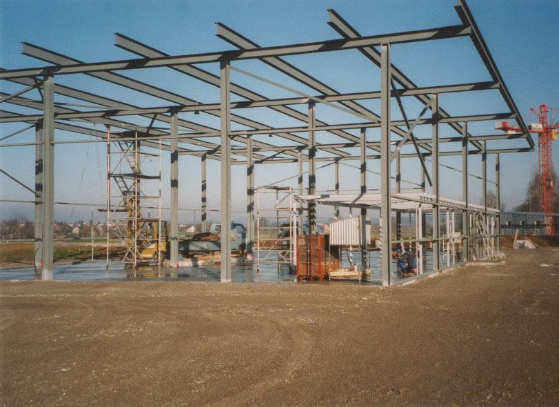 Selbsterbaute Stahlbau 2000