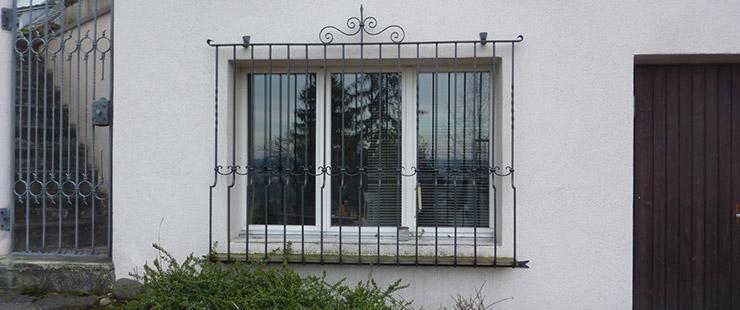 Stoop Metallbau Angebot Fenstergitter
