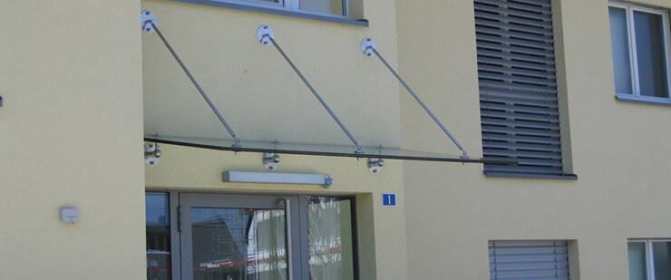Stoop Metallbau Angebot Vordächer